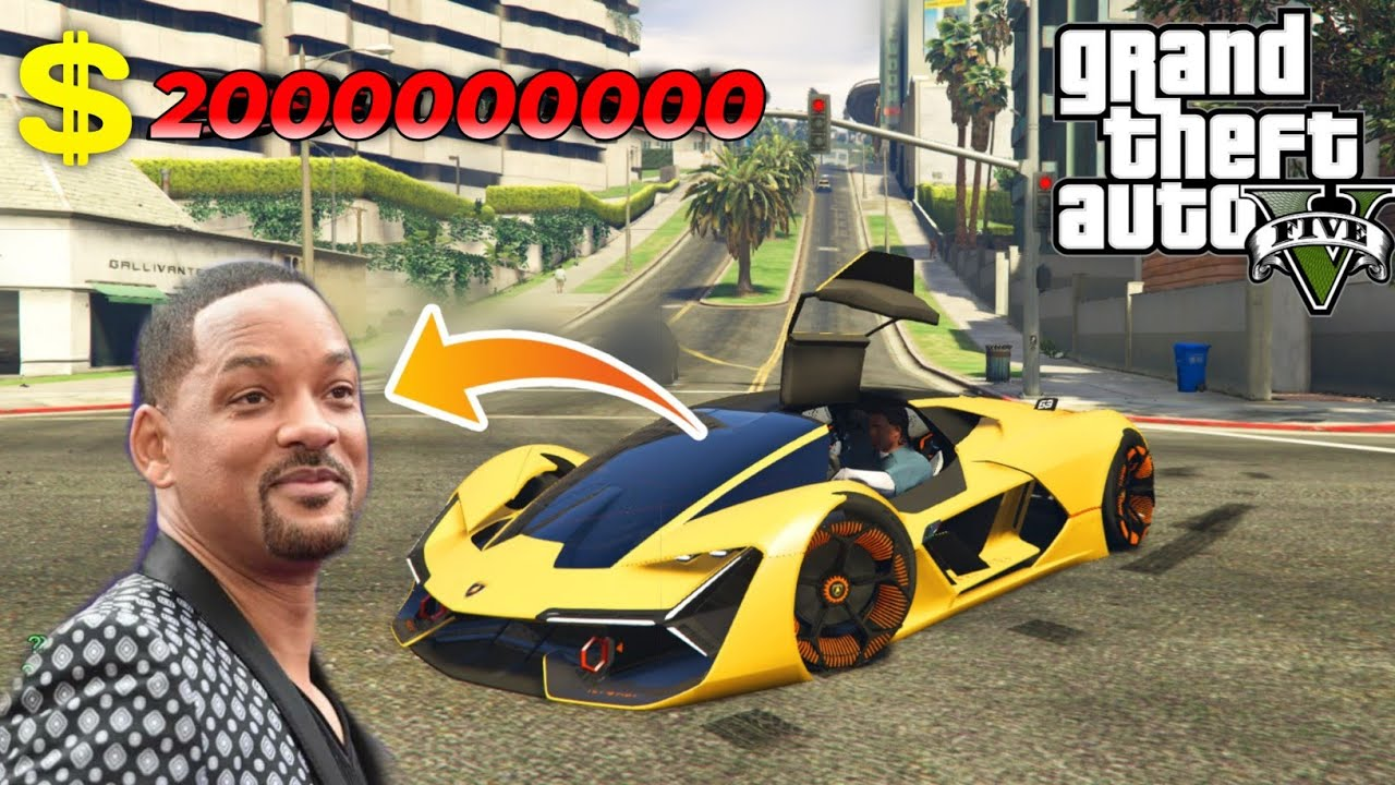 Stealing World's Fastest Car of Big Celebrity | GTA V GAMEPLAY #4