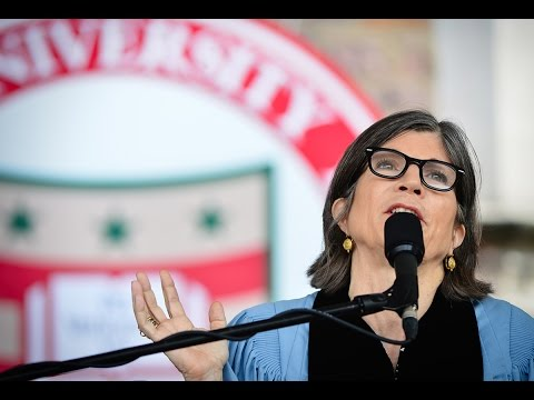 Anna Quindlen – #WashU17 Commencement Address
