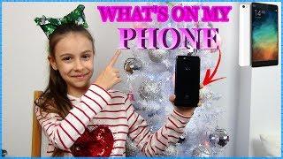 Τι Έχω στο Κινητό μου!What's on my Phone!  Princess Tonia Vlog!