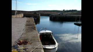 Hopeman Harbour, Morayshire.