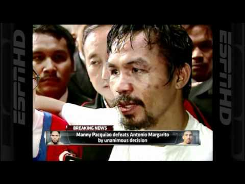 Manny Pacquiao vs Antonio Margarito Post Fight Interview