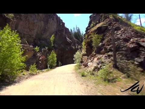 2015 Myra Canyon Bike Ride (prt.1) Travel & Tourism -  Myra Bellevue Provincial Park  - YouTube