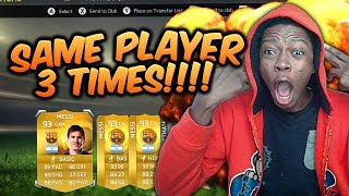 OMFG 3 TIMES SAME AMAZING PLAYER IN A PACK - FIFA 15 GIVE ME YOUR PACK - Pack Opening Series