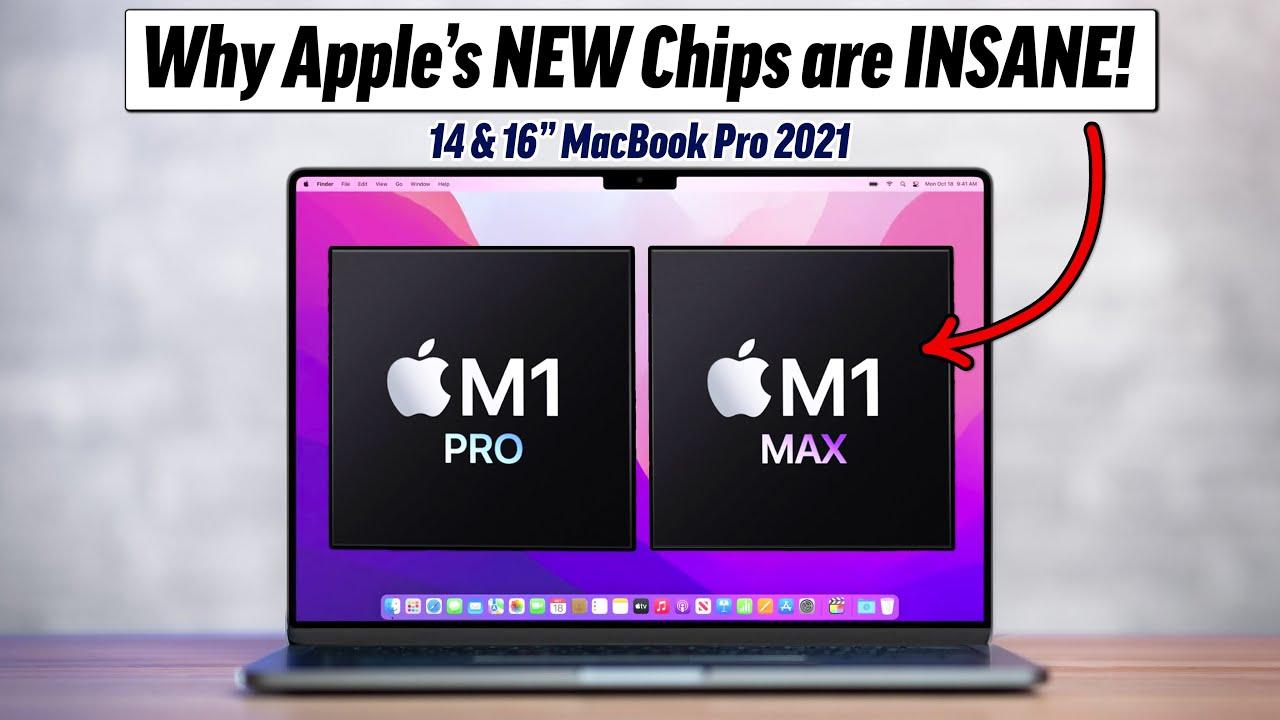  M1 Pro/Max MacBook Pro Chips Explained: SoC Deep Dive!