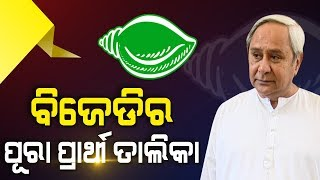 Naveen Patnaik Announces 1st List of Candidates of BJD For 2019 Election