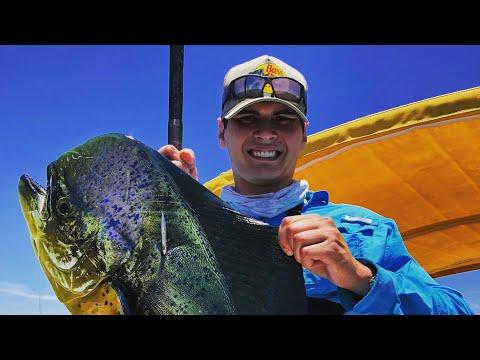 Fishing For BULL Dorado And STRANGE Fish!! ( La Paz, Mexico)