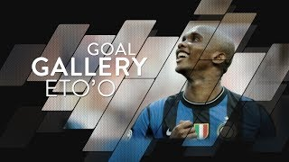 SAMUEL ETO'O | All of his 53 Inter goals 🇨🇲⚫️🔵