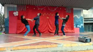 Hip Hop and Bollywood Group dance by Dayananda sagar college students Bangalore