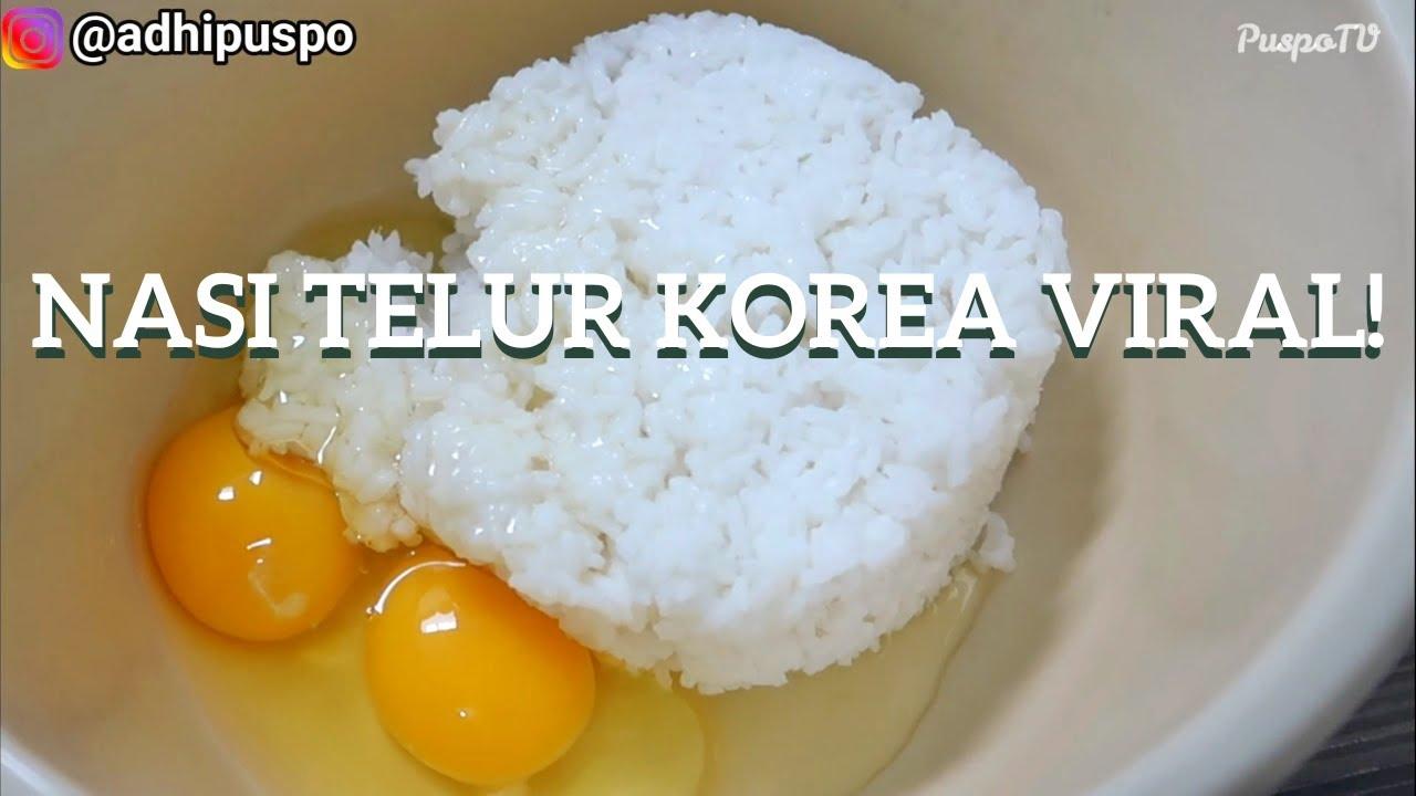 How To Make Egg Fried Rice Korean Style Youtube