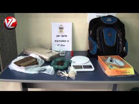 Dois homens presos com drogas bo bairro Fazendinha em Volta Redonda