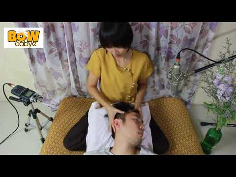 ASMR Thai Massage - Head Massage
