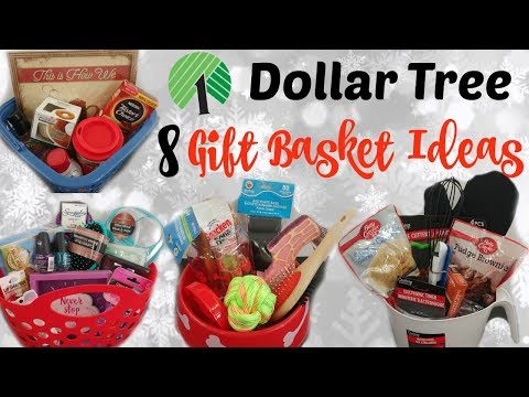 Dollar Tree Gift Baskets Quick Easy