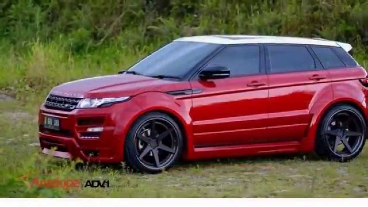Hamann Widebody Range Rover Evoque On ADV1 Wheels YouTube