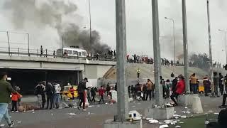 تسهيل مرور جنازة من قبل الثوار على طريق محمد القاسم  عن أخلاق الثورة نحدثكم