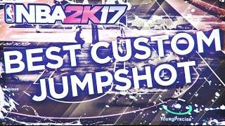 NBA 2K17: BEST CUSTOM JUMPSHOT! PLAYMAKER/SHARPSHOOTER!
