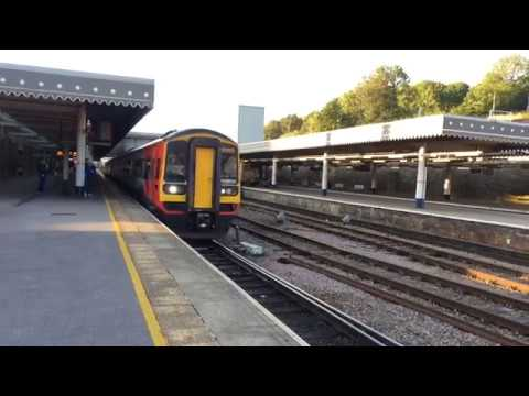 East Midlands Trains 158853 leads 156406 with a Liverpool Lime Street to Norwich via Sheffield