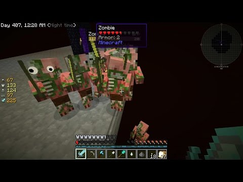 Accident stupide dans le Nether - Minecraft Sky Factory 3 -