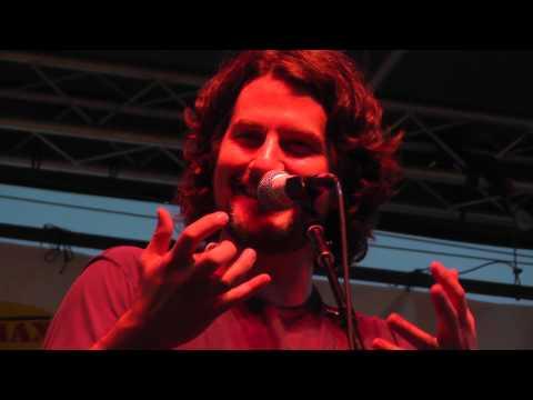 Matt Nathanson Aug. 1, 2013: 9 - Banter about Kinks Shirt - Columbus Park, Stamford, CT