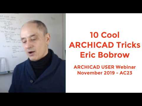 10 Cool ARCHICAD Tricks - ARCHICAD User November 2019
