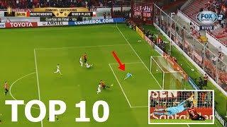 TOP 10 ATAJADAS ÉPICAS DE FRANCO ARMANI | Copa Libertadores 2018