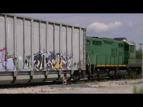 Ex-PRR Geep switching Waste Management Facility Annapolis Jct MD