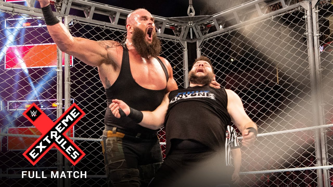 FULL MATCH - Braun Strowman vs. Kevin Owens - Steel Cage Match: WWE Extreme Rules 2018