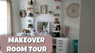 ReDoing My Room  MAKEOVER TOUR 2019! Teaching EMMA to cook!