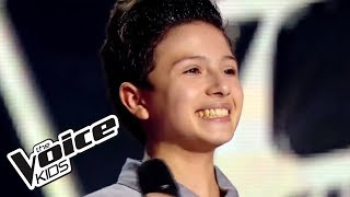 Repeat youtube video The Voice Kids 2014   Adrien - Just Give Me a Reason (Pink)   Blind Audition