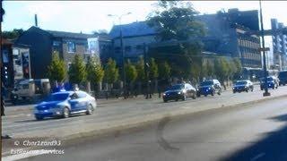 Security Police VIP escort in Tallinn / Politsei eskort