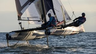 Extreme Foil Racing in France - Red Bull Foiling Generation 2015