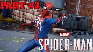SPIDER MAN PS4 WALKTHROUGH PART #3 | In My New Ps4 Pro | #Ultra High Graphics
