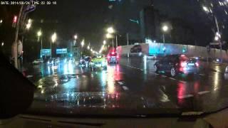 Crazy drunken driver crash