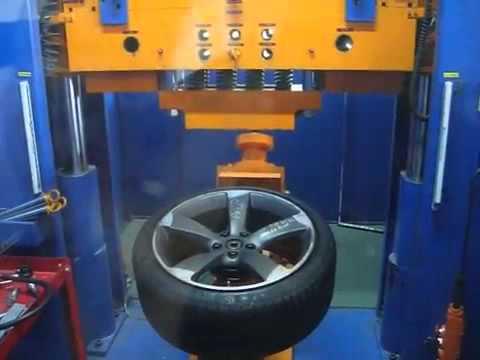 Тестирование дисков для audi роторы в лаборатории