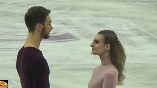Gabriella PAPADAKIS & Guillaume CIZERON/ GOLD MEDAL  / FREE DANCE European Championships 2019  HD