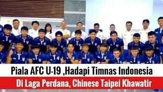 Piala AFC U-19: Hadapi Indonesia di Laga Perdana, Chinese Taipei Khawatir
