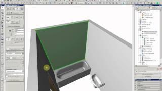 Создание разверток стен в ArchiCAD 1 часть
