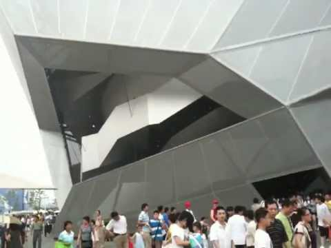 Germany Pavilion in Shanghai World Expo 2010