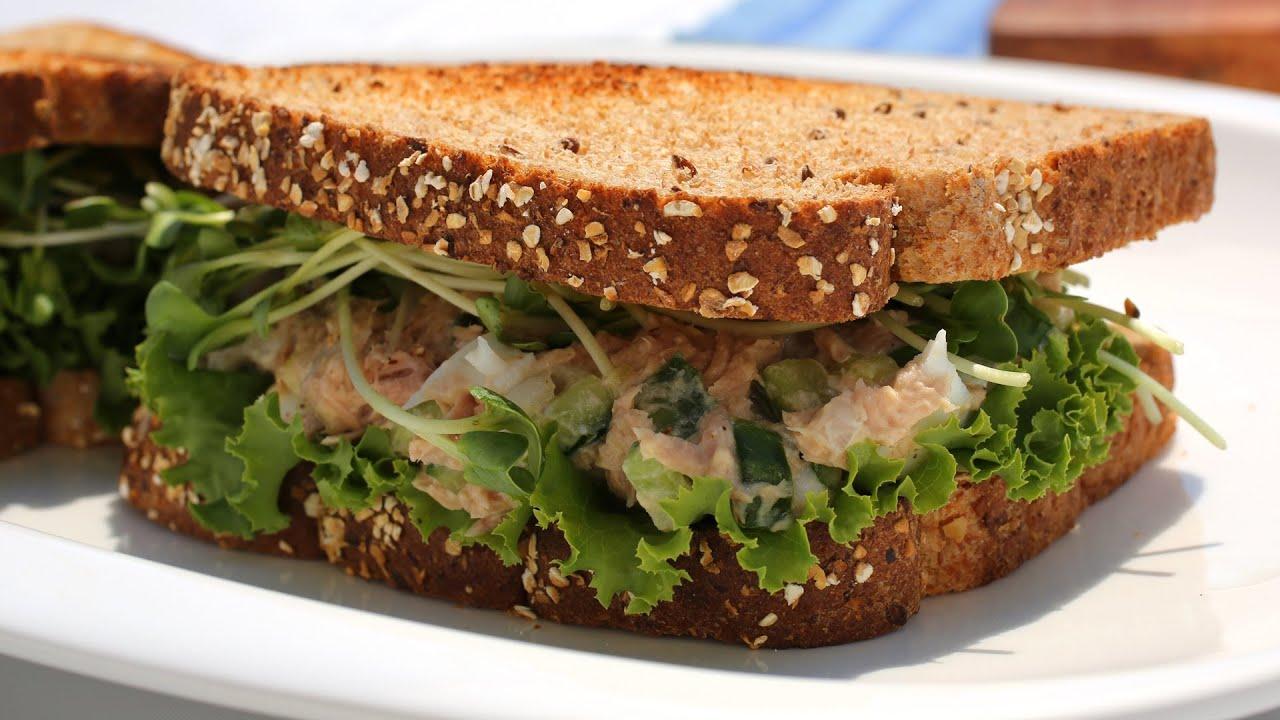 Tuna sandwich youtube for How to make tuna fish sandwich