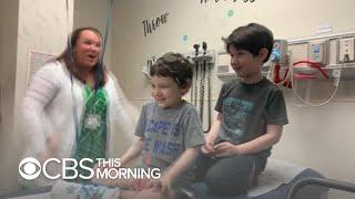 doctors-nurses-celebrate-chemo-5-year-song