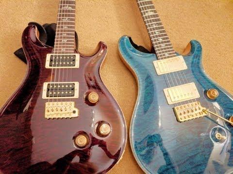 PRS Dragon II Vs Vintage Bass & HFS Pickups