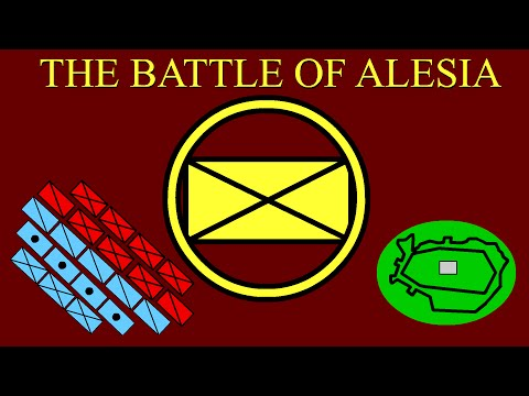 Julius Caesar's greatest military victory. It's pretty neat