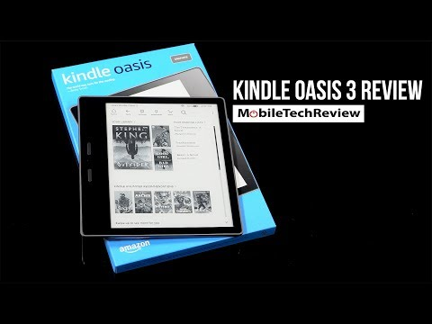 Kindle Oasis 3 (2019) Review