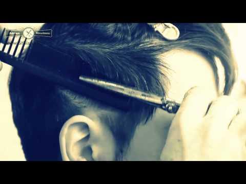 Man Haircut Great Skills Romanian Hairstylist