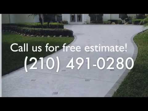 Long-Lasting Acrylic Cement Coating Installation in Helotes, TX