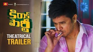 Kirrak Party Theatrical Trailer | Nikhil | Samyuktha | Simran Pareenja | AK Entertainments
