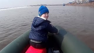 Весенние покатушки на новом комплекте Лодка  JOKER 370 FISHER и мотор HIDEA Хайди HD 9 9 FHS