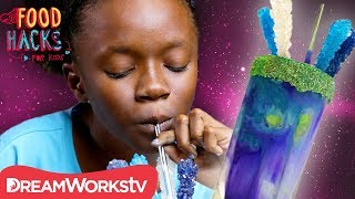 Galaxy Voltron Milkshake + More Voltron Hacks! | FOOD HACKS FOR KIDS