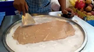 Как делают лучшее мороженое в Тайланде .