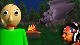 WHO IS THIS NEW WOLF CHARACTER!? | Baldi's Field Trip (please support kickstarter)
