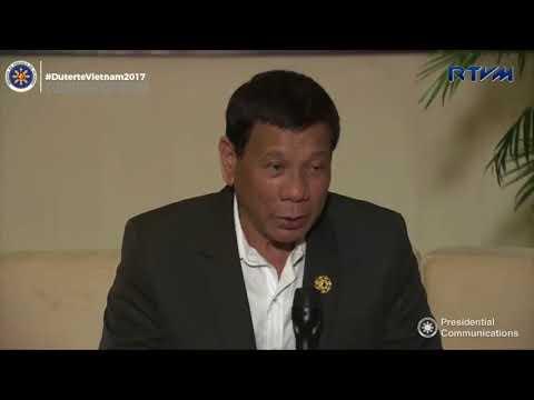 Duterte wants PH to host 'world summit on human rights'